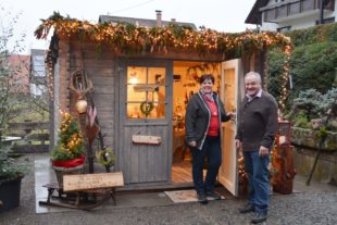 Weihnachtszauber in Roser's Deko-Scheune