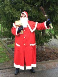 Der Nikolaus besuchte die Kinder des Biberacher Turnvereins