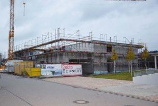 Beim Kindertagesstätten-Neubau geht es voran
