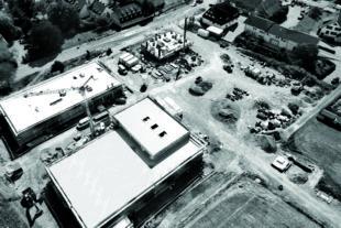 Grafmüller GmbH baut als Generalunternehmer Fachmarktzentrum in Schwanau-Nonnenweier