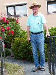 Josef Stenzel ist ein engagierter Ehrenamtler
