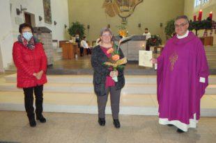 25-jähriges Dienstjubiläum von Gemeindereferentin Anke Haas