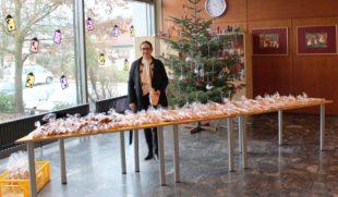 Gelungene Nikolaus-Überraschung von Bürgermeisterin Daniela Paletta