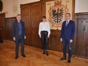 Saskia Oschwald wird neue Hauptamtsleiterin der Stadt Zell