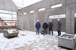 Rathaus-Rohbau fristgerecht fertig