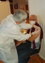 Hohe Impfbereitschaft beim Pflegepersonal der Winkelwaldklinik
