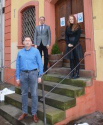 Manfred Walter und Lisa Willmann sind die neuen Gebäudemanager