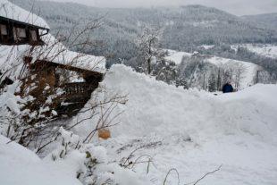 Winterimpressionen im Zeitraffer vom Schönwald in Nordrach-Kolonie