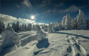 Winterzauber am Brandenkopf, Mummelsee und der Hornisgrinde