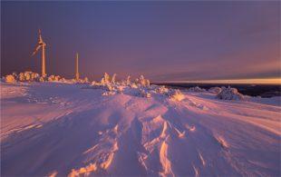Winterzauber auf dem Brandenkopf, am Regeleskopf, auf der Hornisgrinde und im Dorf