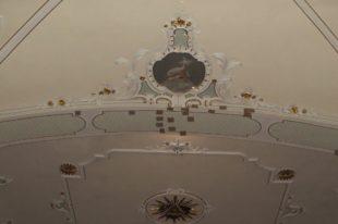 Renovierung des Chorbogens in der Zeller Pfarrkirche