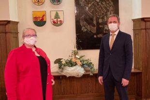 SPD-Kandidatin besuchte Zell a. H.