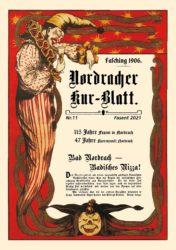 Nordracher Kur-Blatt Nr. 11 und ein närrisches Schaufenster