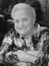 Olga Haag hatte ihr letztes, großes Lebensziel noch erreicht