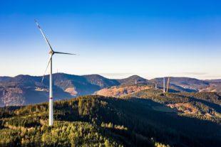 Windpark Hohenlochen seit Mittwoch am Netz