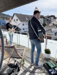 PAN spielte gestern für die Nachbarn