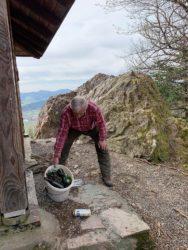 Bei der Siegfried-Liebert-Hütte am Hangerer Stein wurde kräftig gefeiert