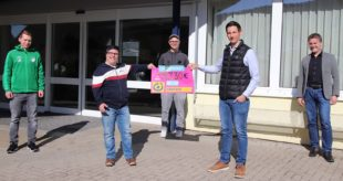 Lauf-Challenge des TuS Kinzigtal erbrachte große Spendensumme