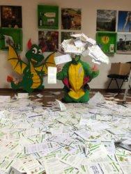 Über 10.000 Besucher haben sich in den kleinen grünen NorDrachen und seine Freunde verliebt
