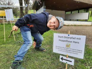 Eine schöne Oster-Überraschung für die Kindergartenkinder