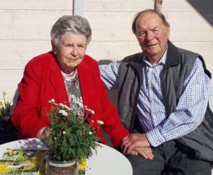 Luzia und Adolf Bühler feiern das seltene Fest der Eisernen Hochzeit