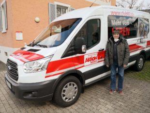 Aktion Mensch fördert Rolli-Bus für Club 82 mit 40.000 Euro