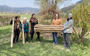 Naturkindergarten bedankt sich bei Spendern am »Ostertisch-to-go«