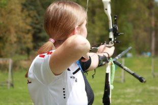 Bogenschützin Sina Hehr hat sich für die Ruhr Games 21 qualifiziert