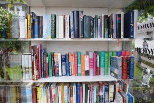 Bücherregal »LeseLust« aus alter Telefonzelle ein voller Erfolg