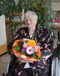 Hertha Raupp feierte 90. Geburtstag