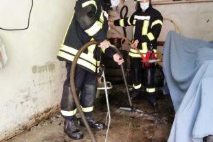 Unwetter verursacht in Biberach zwei Feuerwehreinsätze