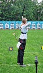 Sina Hehr und ihr großer Bogen-Wettkampf