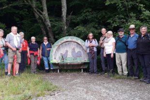 Erste Dienstagswanderung führte in den Hinterhambach