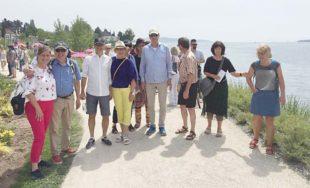 Zeller Lions treffen Partnerclub aus Linth auf der Landesgartenschau