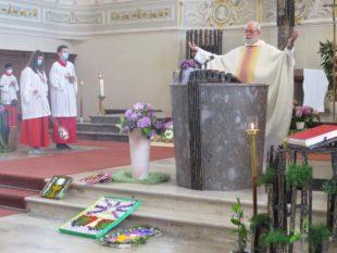 Fronleichnamsfest ohne Prozession