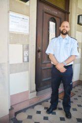Polizeihauptkommissar Björn Krugielka ist der neue Leiter des Polizeipostens Zell a. H.