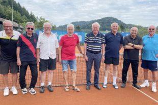 Zwei Meistertitel für den TC Zell: Herren 70 und U12 gemischt