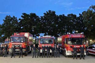 2021-7-16-OG- Ortenaukreis- Fluthilfe Abfahrt Ahrweilre_Gruppenfoto Feuerwehr