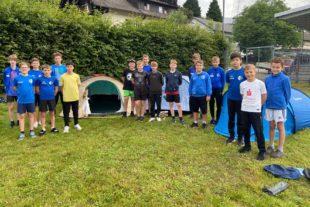 Zelten mit Nachtwanderung: Toller Abschluss der D-Jugend des FVU