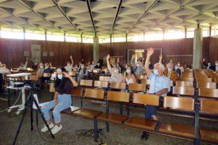Gemeindeversammlung stimmt für den Neubau des Gemeindehauses