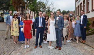Sebastian Grillich und Katja Menge sagten »Ja« zueinander