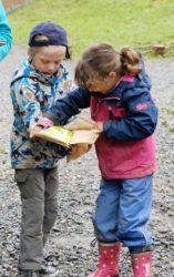 Kinder lernen Grenzen zu setzen