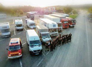 Hilfsgüter aus Zell sind in Dernau angekommen