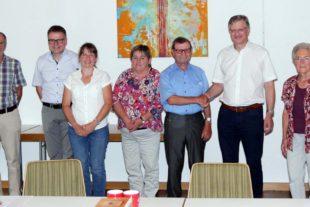 Siegfried Huber ist neuer Vorstand im Caritativen Förderverein St. Gallus