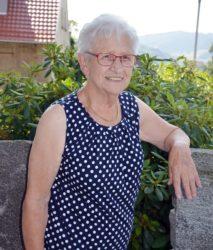 Maria Kornmayer ist mit 85 noch fit