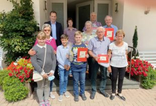 Insgesamt 75 Jahre Treue zu Oberharmersbach