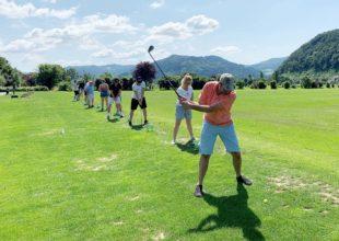 Golferlebnistag erreicht Rekord teilnehmerzahl von 73 Besuchern