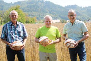 Brot mit Getreide aus der Region