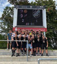 B-Junioren gewinnen Bezirkspokal