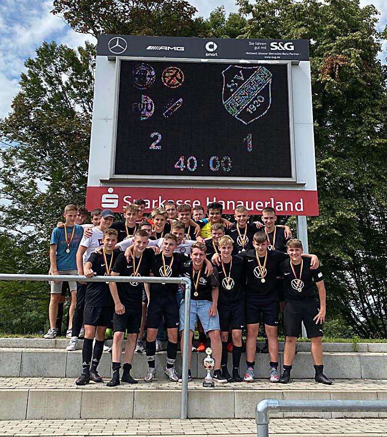 2021-7-5-Kehl- SG Harmersbachtal- Pokalsieg B Jugend Theo - ACDC2880-336E-4C20-AE13-6B15E698A8D5